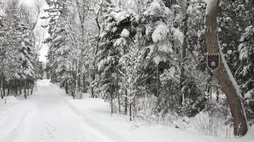 Villa Granbleu - Entrée en hiver