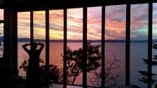 Villa Grandbleu - coucher du soleil